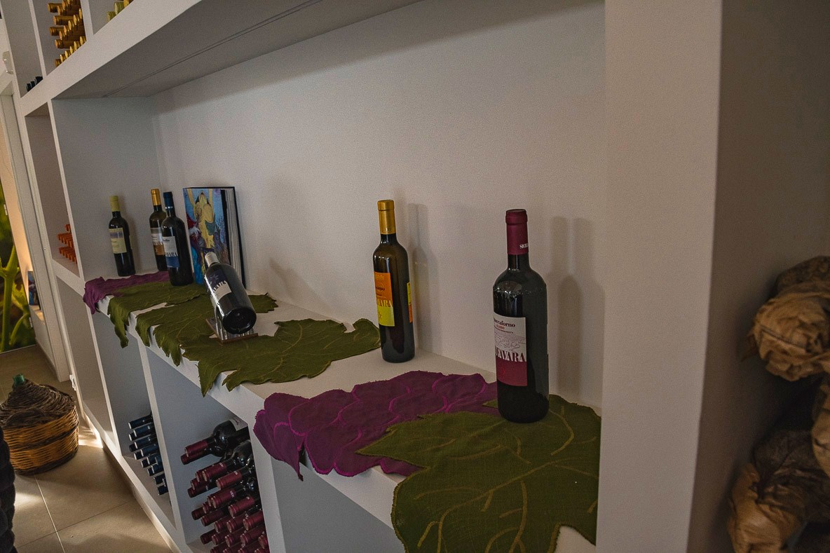 I vini Riofavara - La valigia di Bacco
